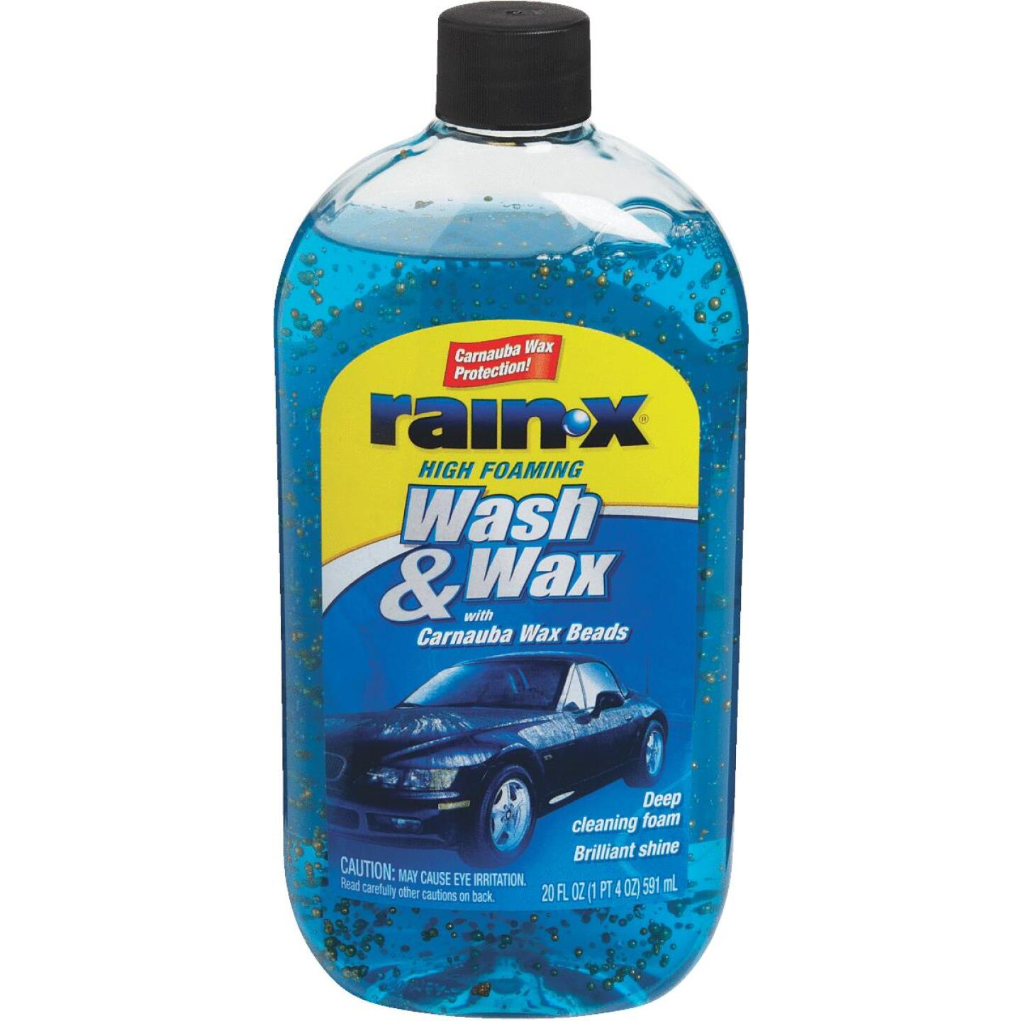 RAIN-X 20 oz Foam with Carnauba Wax Beads Car Wash Image 1
