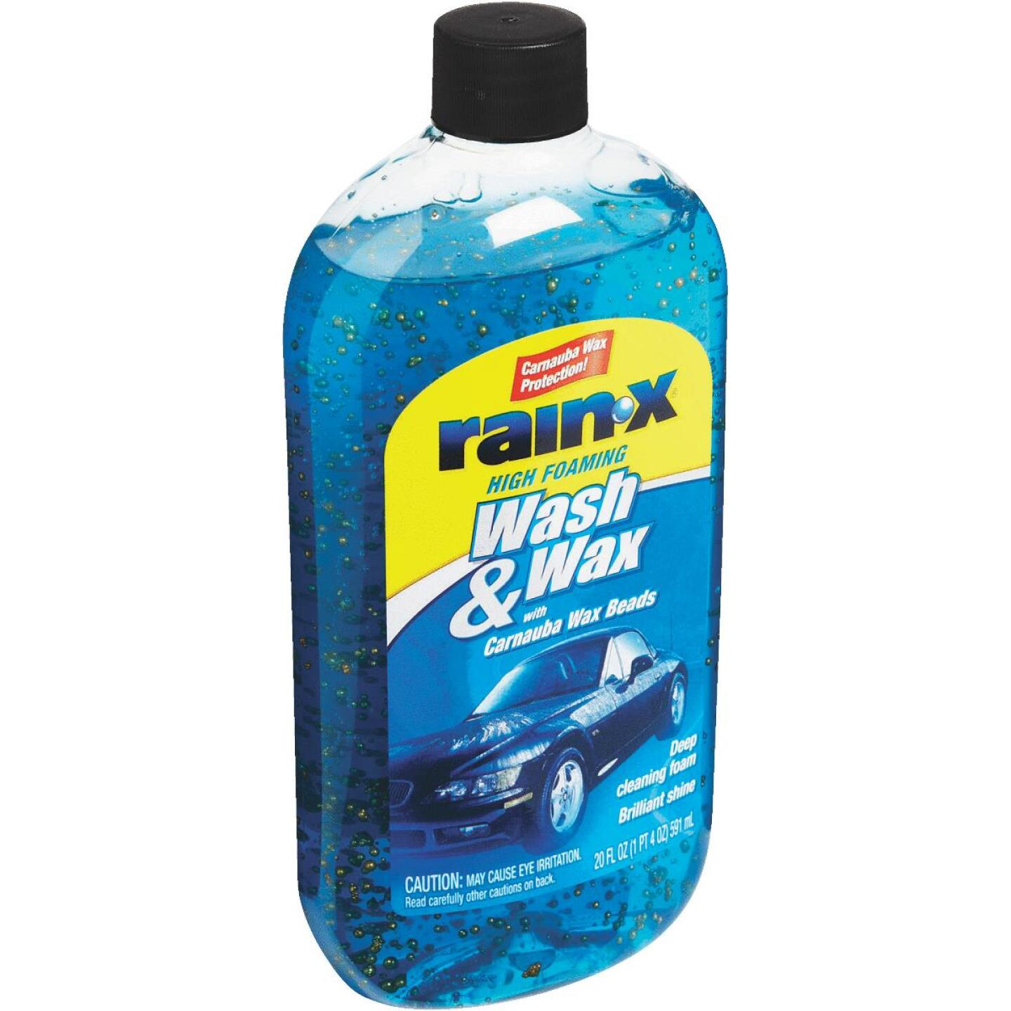 RAIN-X 20 oz Foam with Carnauba Wax Beads Car Wash Image 3